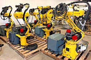 Details about Fanuc Robot Arcmate 100i M6i RJ3 Welding Large Qty Industrial  Robotic Intl Ship