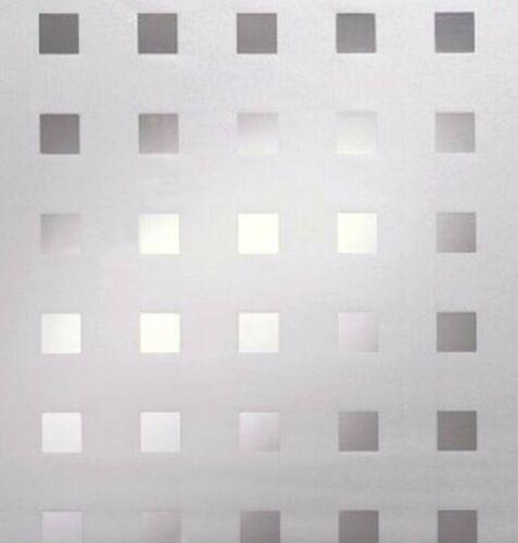 4,43 €//m² Film De Fenêtre Vue Film Protection Glasfolie avec protection solaire carrés caree