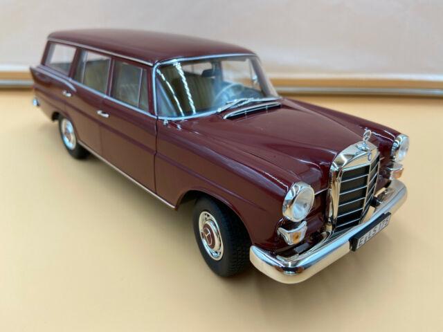 Mercedes 200 Universal 1966 dunkel rot 1:18 Norev 183576  neu /& OVP