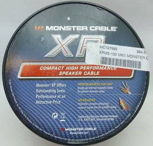 Monster Cable Xpms 100 Mkii Speaker Cable Spool 100 Ebay