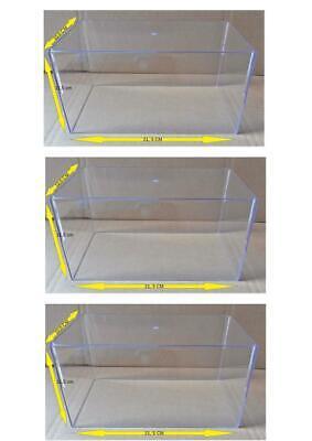 Lot 4 Couvercle Vitrine Show Case pour Miniatures 1//24 Neuf D/'origine Boite
