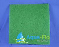 Aqua-flo Green Pond Filter Mat/media/pad 24x 24-skimmer-fish-koi-2x2-2ft X 2ft