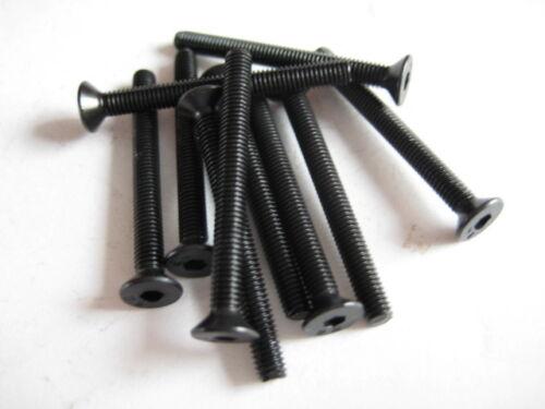 10x Stahl Senkkopfschrauben M3x30 DIN7991 10.9 Senkschraube