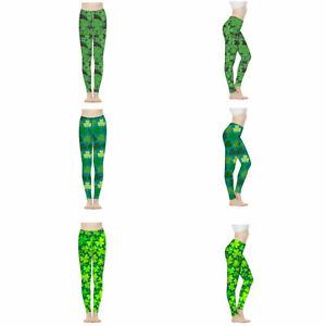 St Patricks Day Women Legging Yoga Pants Workout Jogging Fashion Ladies Pants