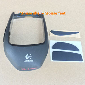Logitech-G9-G9X-Mice-Replacement-Repair-kits-Mouse-Shell-Cover-grip-amp-Feet-Skate