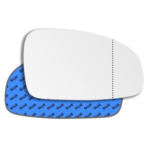 Rechts Asphärisch Beifahrerseite Spiegelglas für Chevrolet Kalos 2002-2011
