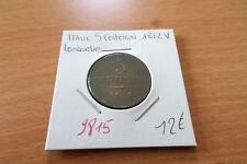 ITALIE 5 CENTESIMI 1822 V LOMBARDIE - OLD ITALIAN COIN - REF9815