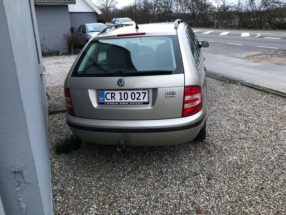 Skoda Fabia, 1,2 12V Comfort Combi, Benzin
