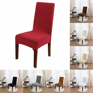 Enjoyable Details About White Stretch Chair Covers Wedding Banquet Party Decor Dining Room Seat Covers Inzonedesignstudio Interior Chair Design Inzonedesignstudiocom