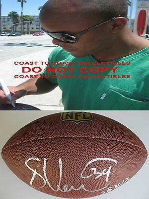 Shane Vereen,new England Patriots,signed,autographed,nfl Duke Football,coa,proof Football
