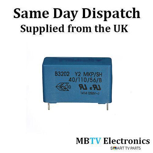 PACK OF 5 5 x Epcos B3202 B32024 Polypropylene Film Capacitors 0.22uF 300V Y2