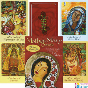 Mother-Mary-Oracle-Deck-Cards-Alana-Fairchild-Geheimlehre-Blue-Angel-New