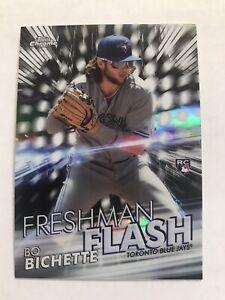2020 Topps Chrome Bo Bichette Freshman Flash Insert #FF-1 RC Rookie Blue Jays