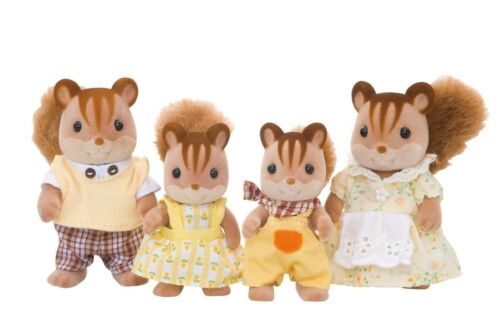 Walnut Squirrel Family FS-17 Sylvanian Families Japan Calico Critters