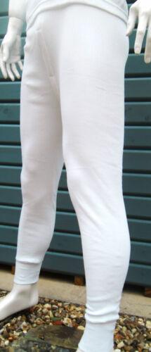 XL Biancheria intima termica M L S Men/'s termica Long John/'s Bianco /& Grigio