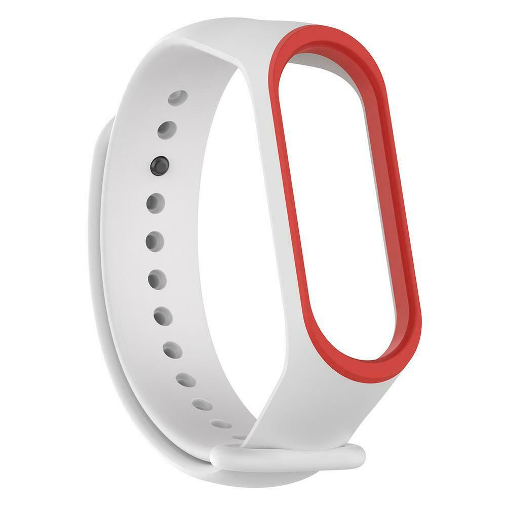 only Strap White Red fr 3/4