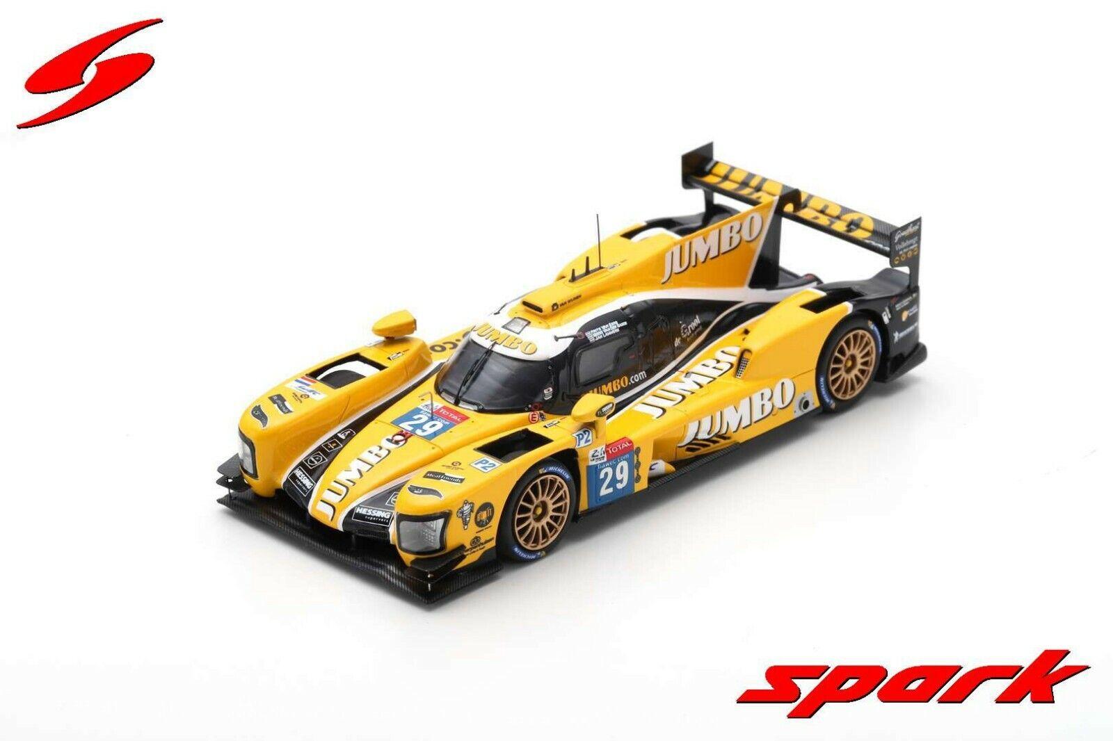 Spark 1 43 Dallara P217 - Gibson Racing Team Nederland 24H Le Mans 2018