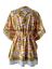 縮圖 4 - Indian Cotton Boho Caftan Bikini Cover Dress Kaftan Beach Wear Poncho Short Maxi