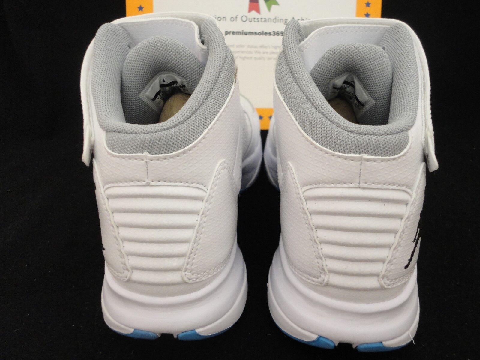 Nike jordan bct mitte 3, onkel, weiße / / / baby Blau, größe 9. 17f04a