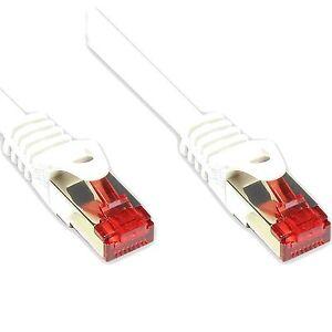 z-Patchkabel-Cat6-Schnee-WEiss-1m-Netzwerkkabel-Internet-Kabel-Patch-Netzwerk-1-m