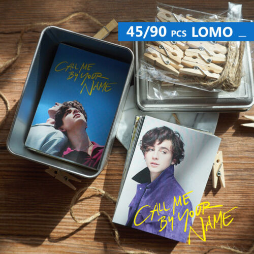 André Aciman Call Me by Your Name Movie Andre CMBYN lOMO Cards Photo Be