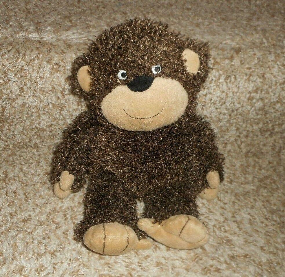 13  CARTER'S BABY BROWN SHAGGY FLOPPY MONKEY STUFFED ANIMAL PLUSH TOY 41394