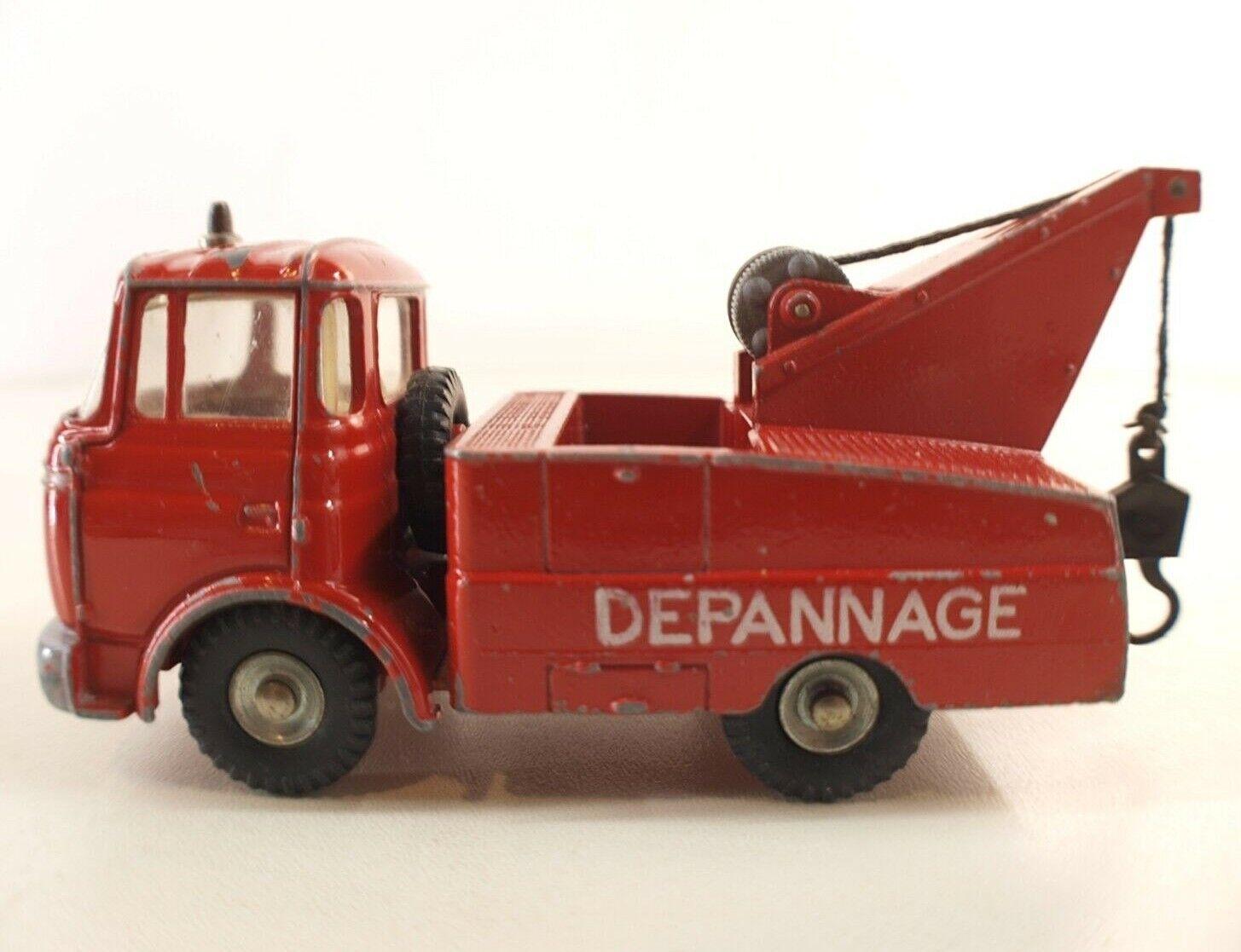 Dinky Spielzeug F Nr°589 Berliet Gak Crash Lkw Problembehandlung bei Uncommon