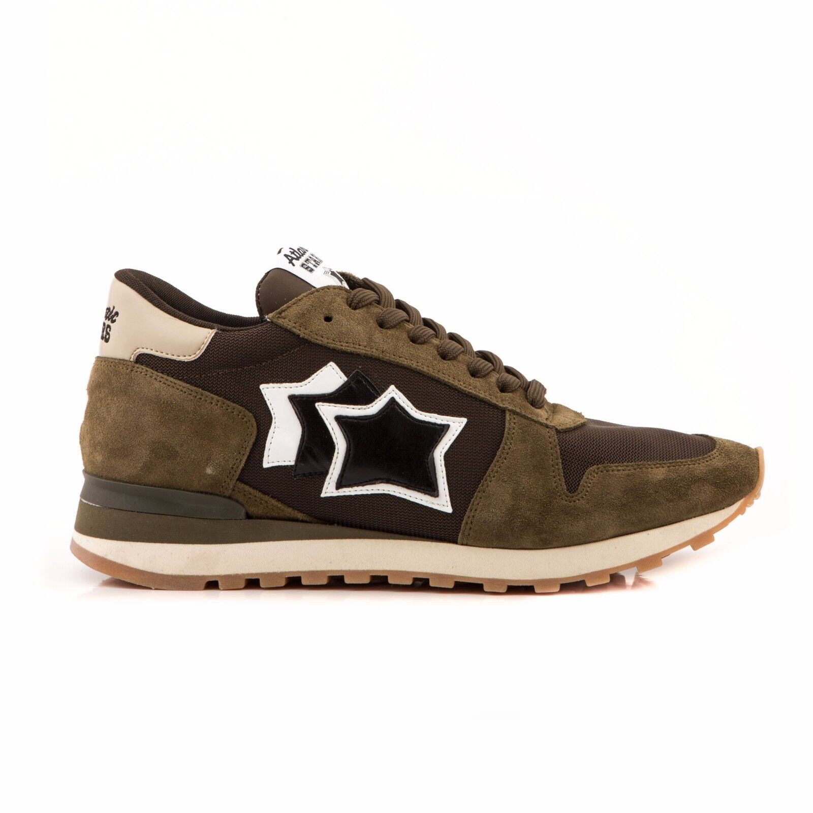 zapatos ATLANTIC STARS hombres ARGO MMNY ABDN AUTUNNO 2017 18 LISTINO  verde