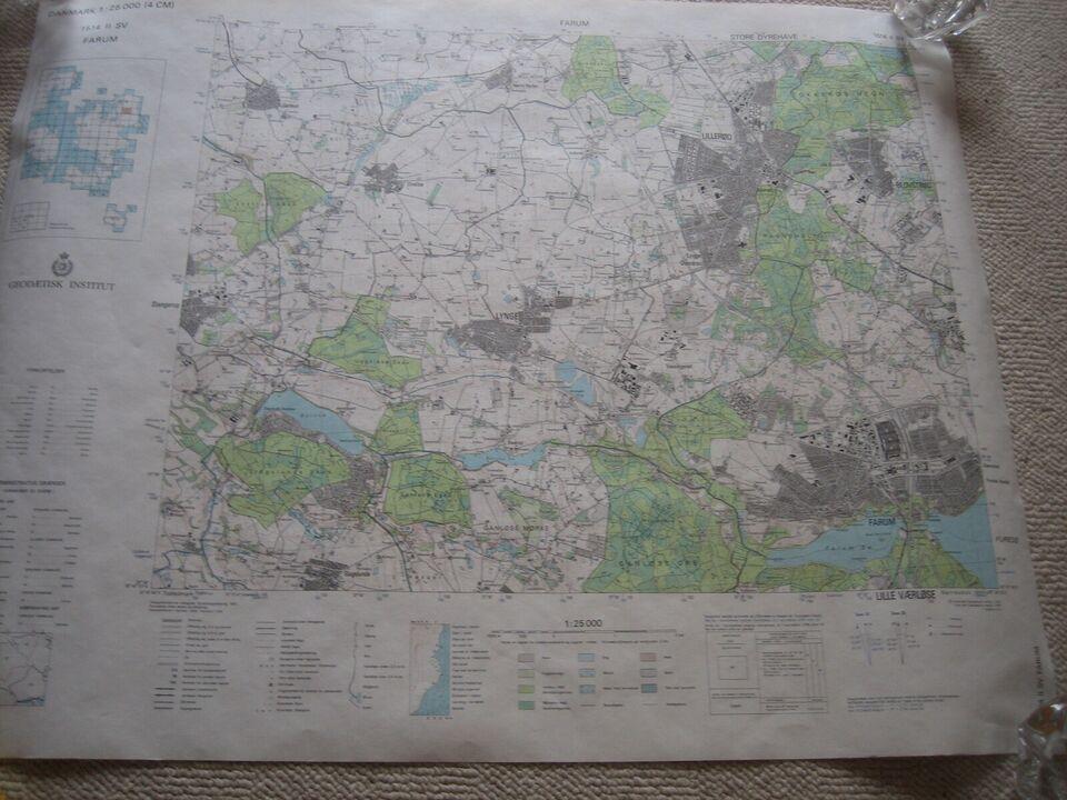 Kort Geodaetisk Institut Dba Dk Kob Og Salg Af Nyt Og Brugt
