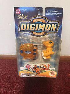 Digimon Agumon Action Feature Bandai Rare