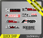 8x JAPAN Sticker Gorillaz Decal Vinyl JDM Race Car Drift Turbo Japanese Pack 3.1