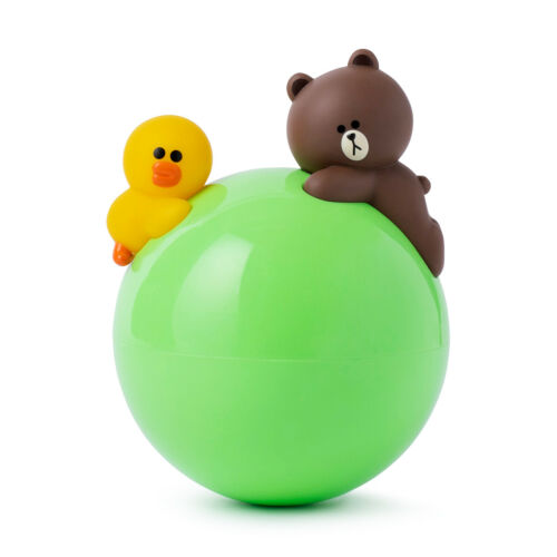 Fashion Korea LINE Friends Cute Brown Sally Roly Poly Chime Toy Ball Mascot Gift