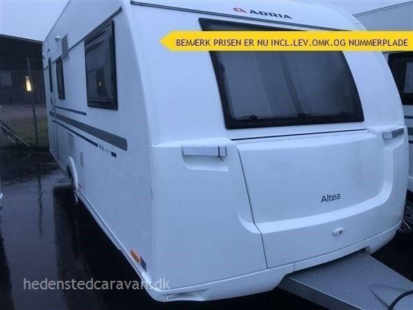 Adria Altea 542 PK, 2019, kg egenvægt 1170