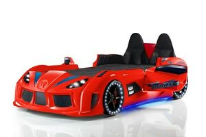 Image Is Loading GT Turbo Race Car Bed Childrens Car Bed