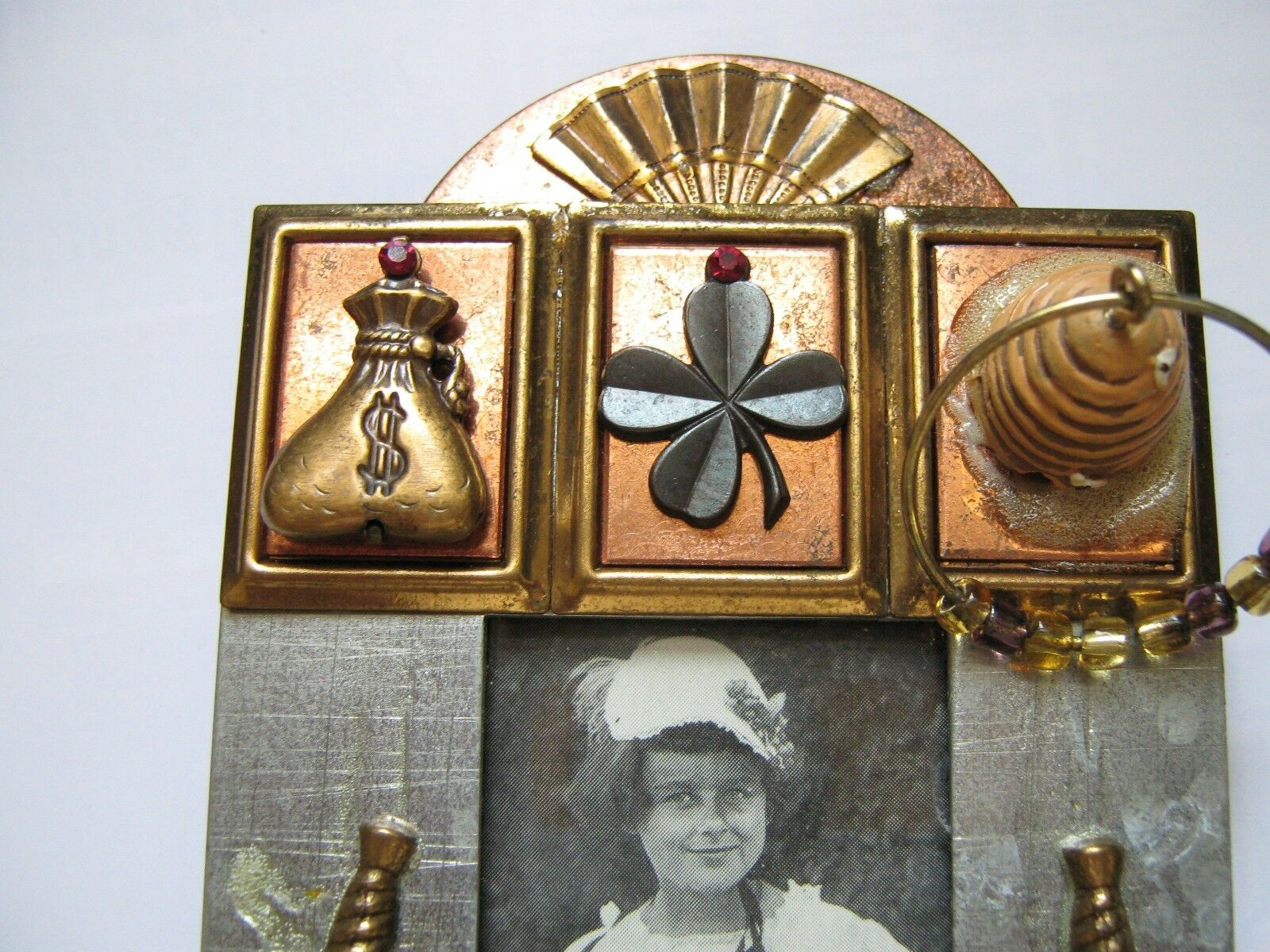 """MAGICAL, WISHING , Crystal Ball , PICTURE FRAME , 6"""" X"""