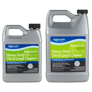 Details about Aqua Mix Heavy-Duty Tile & Grout Cleaner - Quart - # 010382-4