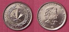 Brilliant Uncirculated 2006 Canada Medal of Bravery 25 Cents From Mint's Roll