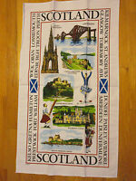 Highlights Of Scotland Tea Towel From Elgate Uk 100% Cotton