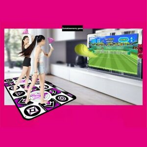 dynamic-LED-Dancing-Dance-Mat-Double-Players-Computer-TV-Wireless-Fitness-Game