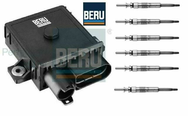 Glow Plug Control Unit Relay Module & Glow Plugs BMW E90/1/2/3  325d,330d,335d