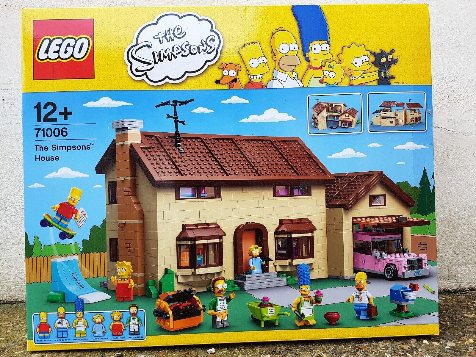 LEGO 71006 Maison Simpsons House neuf neuf neuf ff54fe