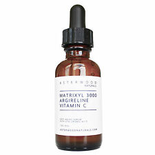 MATRIXYL 3000™ 30% ARGIRELINE™ peptide Vitamin C 20% Serum Hyaluronic Acid 1oz