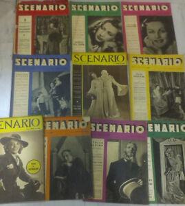 SCENARIO-LOTTO-DI-10-RIVISTE-Anno-1942