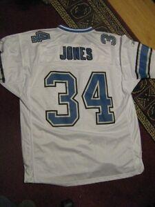 0b4e9305cc5c5 Men's DETROIT LIONS #34 Kevin Jones jersey...NFL Reebok..size XL | eBay