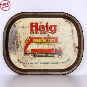 OLD-HAIG-SCOTCH-WHISKY-BRITAIN-BEER-LITHO-PRINT-ADS-TIN-OLD-SERVING-TRAY-610