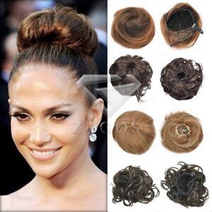 Détails sur 4 Style Femme Cheveux Extension