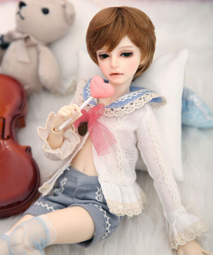 Mika Free Face Make UP+Eyes+Clothes+wig+Shoes 1//4 BJD Doll SD Doll FL