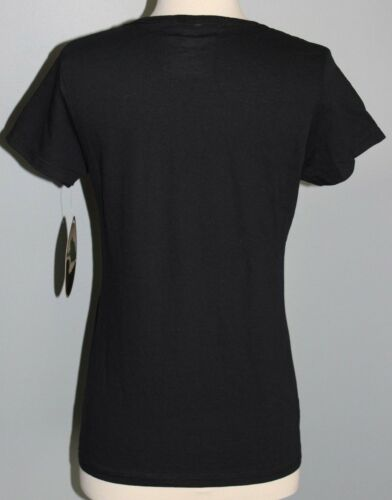 New Ladies MOSSY OAK Short Sleeve Shirt Black /& Pink S L 2XL Hunting Tee Womens