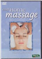 Easy Home Massage (dvd, 2005)