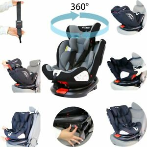 All Stages 360° Rotating Baby Car Seat Carseat Group 0+ 1 2 3 (CS 008)
